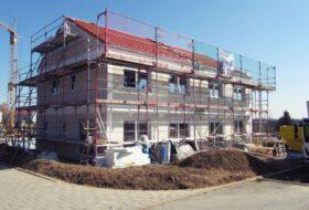 Neubau Einfamilienhaus Doppelhaushälften zur Miete